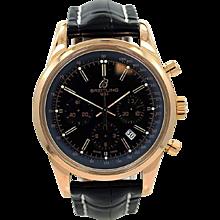Breitling Rose Gold Transocean 01 Chronograph Wristwatch