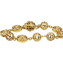 20K Buddha Mama Dharma Wheel and Mandala Beaded Bracelet