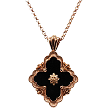 18K Buccellati Opera Collection Pendant Necklace