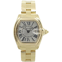 18K Yellow Gold Ladies Cartier Roadster Watch