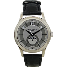 Patek Philippe White Gold Mens Complication 5205G-001 Watch