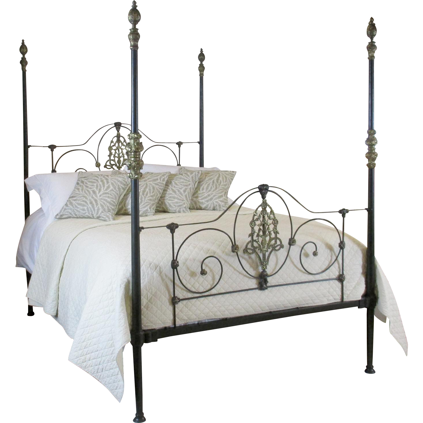 victorian four poster bed