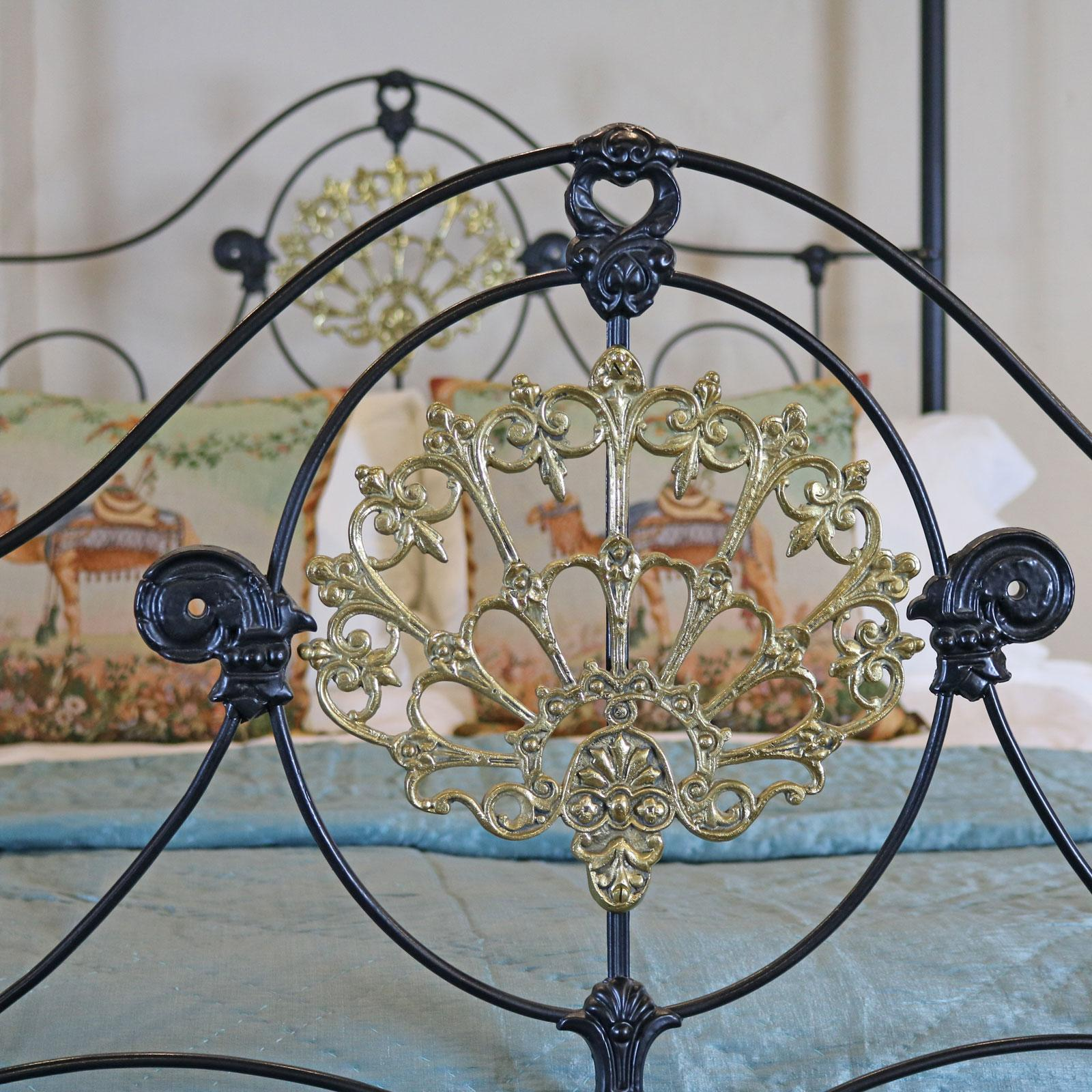 cast iron four poster bed from seventh
