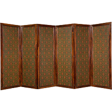 Gothic Revival Six Panel Screen after A.W.N. Pugin