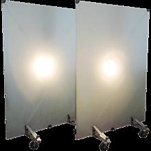 Philippe Starck 'Stanton Mick', Pair of Illuminated Room Dividers