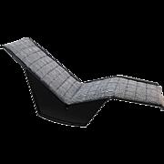 Burghardt Vogtherr 'Serpentina' Deck Chair, Rosenthal, 1976