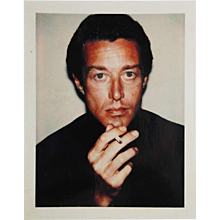 Andy Warhol Halston Polaroid, 1974