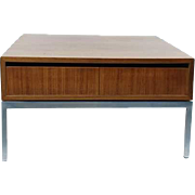 Florence Knoll, Coffee table  with two drawers, 1950's