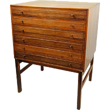 Ole Wanscher Chest of Drawers, A.J.Iversen 1959