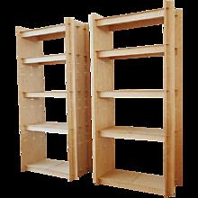 Two bookshelves, Edition Garage Blau, Berlin 1995