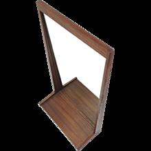 Aksel Kjersgaard teak mirror 1960's