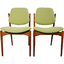Arne Vodder 'two side chairs', Denmark 1960's
