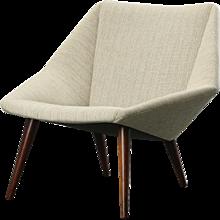 Nanna Ditzel 'Mod. 93', lounge chair 1950's