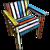 Sebastian Wrong & Richard Woods 'Studio Chair' limited Edition 11/50