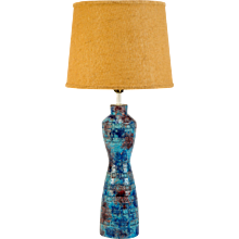 Italian Bitossi Aldo Londi Pottery Table Lamp 1960's