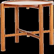 Hans Wegner Folding Table Teak & Oak 1950's