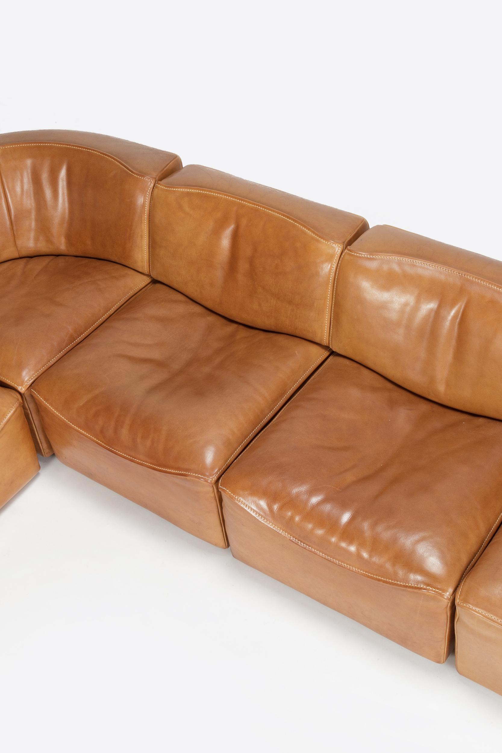 swiss de sede modular sofa ds 15 1970 from okay art on rubylux. Black Bedroom Furniture Sets. Home Design Ideas