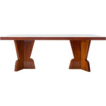Executive unique GIO PONTI conference table,1939