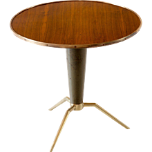 Melchiorre Bega Attributed Organic Coffee Table,1950