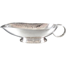 Hector Aguilar Sauce or Gravy Bowl 940 Sterling Silver