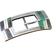 William Spratling de Mexico Buckle Silver & Stone