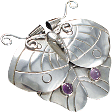 William Spratling Moth / Butterfly Pin