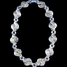 William Spratling Necklace Vintage 1940's Sterling Silver