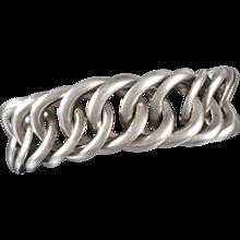 William Spratling Sterling Silver Lind Bracelet Vintage 1940's