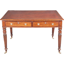 A William IV Mahogany Partner's Writing Table, Circa 1835.