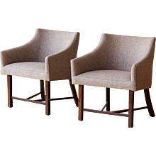 Harvey Probber Pair of Armchairs, 1960s.