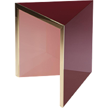 Prisme side table pink