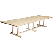 An Arts and Crafts Style Oak Refectory Table