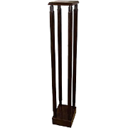 A Contemporary Mahogany Model Stand designed by Sir John Soane