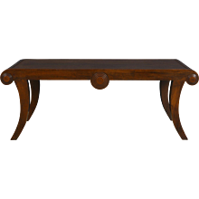 William IV Style Mahogany Bench constructed from 19th Century Timber