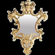 An Italian Rococo Giltwood Mirror, circa 1745