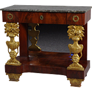 Italian Empire Console Table