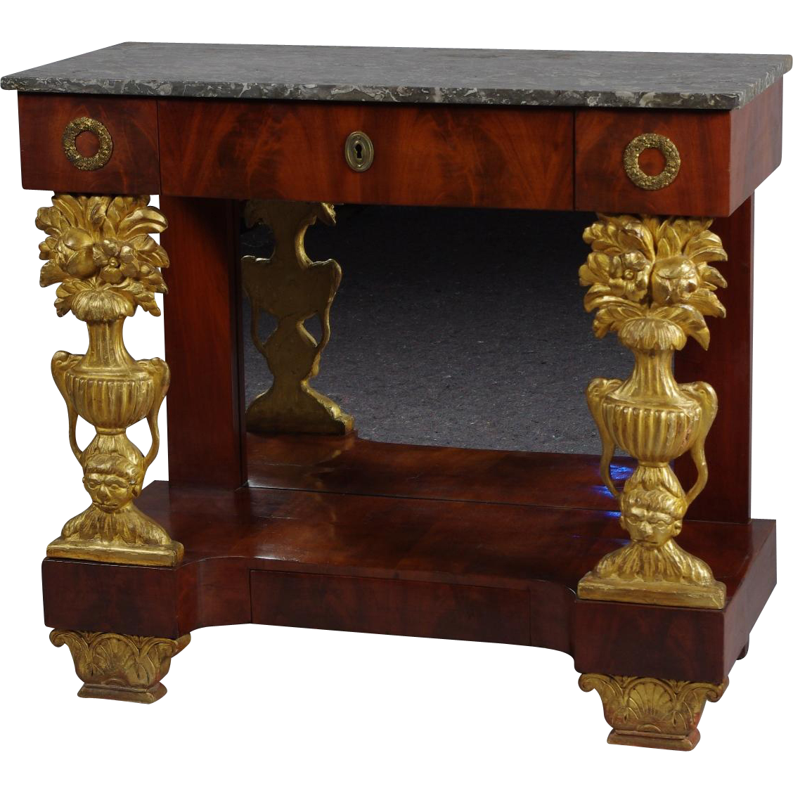 Italian empire console table from robert morrissey on rubylux geotapseo Choice Image