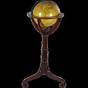 """12"""" Terrestrial Globe by Kirkwood of Edinburgh"""