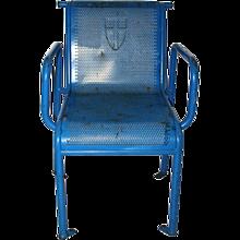 Viennese Mid Century Modern Garden Chair 1960s