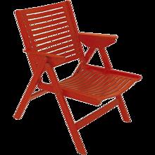 Mid Century Modern Folding Chair Rex by Niko Kralj 1952