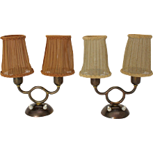 Josef Frank Pair of Art Deco Table Lamps Vienna 1930s