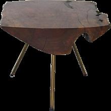 Modernist CARL AUBÖCK Tree Trunk Table Vienna 1950s