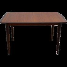 Rectancular  Extendable Dining Table Denmark 1960