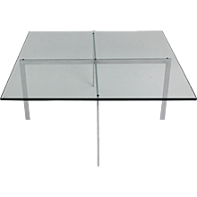 Bauhaus Coffee Table by Mies van der Rohe 1929