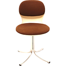 Swiveling Desk Chair Nr. 7105 by Stoll Giroflex