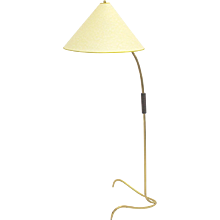 Floor Lamp Kalmar attributed with claw-like foot, 1950s, Vienna