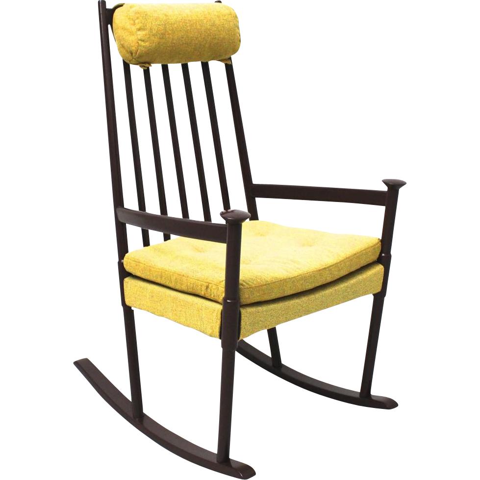 Scandinavian Rocking Chair circa 1960 from nobarock on RubyLUX