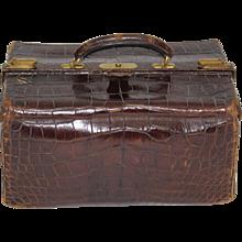Crocodile Suitcase 1920s Great Britain