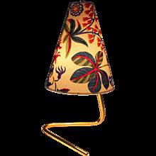Brass table Lamp by Rupert Nikoll Vienna circa 1950