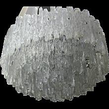 20th Century,  Lucite Kalmar Iceglass Chandelier, 1960´s